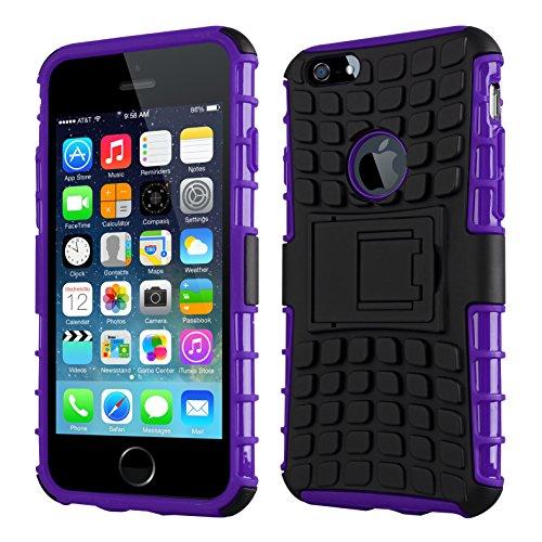 CruzerLite IP6PLS-Spi-Green Spi-Force Dual Layer Schutzhülle für Apple iPhone 6 Plus grün Purple