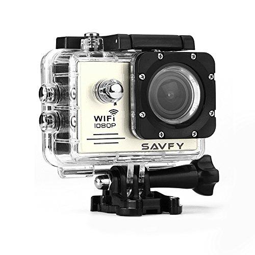 La Dernière Action Camera - SAVFY® - Caméra sport / Caméra embarquée Wi-Fi Haute Définition Full HD 1080P Enregistreur Vidéo Numérique DVR Camcorder, ...