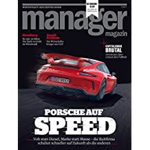 manager magazin 7/2017: Porsche auf Speed