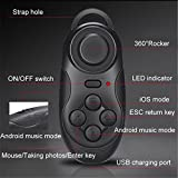 #1: Yora Wireless Bluetooth Game Controller Gamepad | Selfie Shutter Remote| Wireless Mouse | Video Controler For iOS, Android Smartphone, PC, TV Box, MID