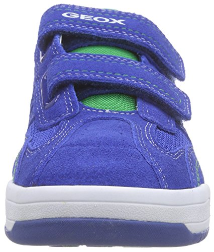 Geox J Rolk Boy A, Sneakers basses garçon Blau (ROYAL/GREENC4165)
