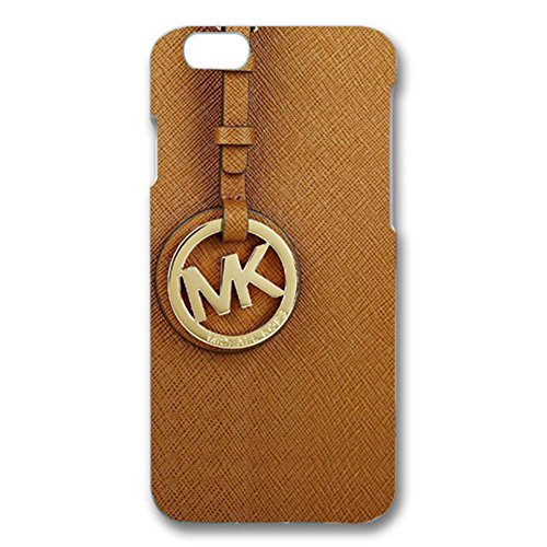 MK Key Image Logo Slim Luxury Phone Case Cover For Iphone 6/Iphone 6s Michael Kors Browm Back Design For Girls