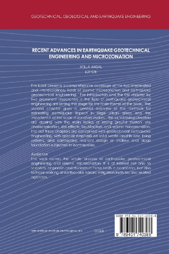 Recent Advances in Earthquake Geotechnical Engineering and Microzonation (Geotechnical, Geological and Earthquake Engineering)