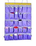 Wandorganizer Hängeorganizer hängeaufbewahrung 30 Taschen Tür zurück Aufbewahrungstasche Mehrfachstecker Wand Tür hängenden Beutel Türtasche Mehrschicht-Aufbewahrungstasche für Wohnzimmer Schlafzimmer Badezimmer Kinderzimmer