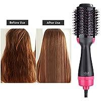 Yongmao cepillo secador de pelo, un paso secador de pelo y voluminizador, cepillo giratorio