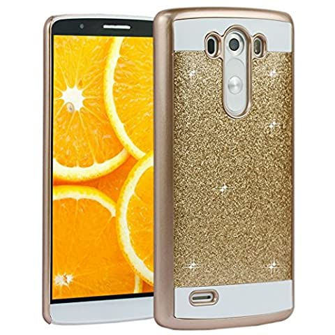 LG G3 Cas, Asnlove Housse Brillant Bling