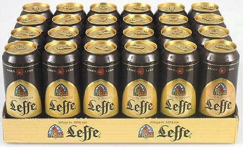 Abbey Bier Leffe braun (Dose) 24 x 50 cl, 6,5% vol.