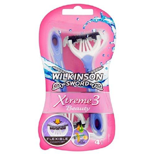 Wilkinson Sword Extreme 3 Beauty Einwegrasierer 4 Stück pro Packung 4 Stück pro Packung