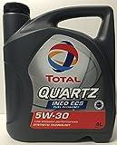 Öl-Motor Total Quartz Ineo ECS 5 W30 4 Liter