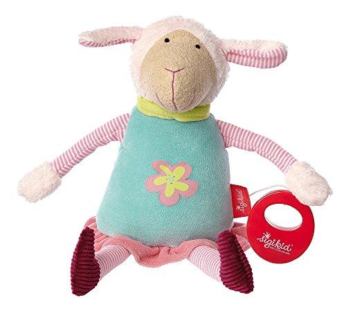 sigikid, Mädchen, Spieluhr, Stofftier Schaf, Kindergarten Freunde, Blau/Rosa, 41356