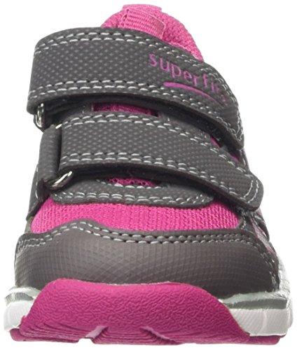 Superfit LUMIS MINI 600061 Mädchen Sneaker Grau (STONE KOMBI 06)