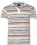 J.J. MEN® JETTE JOOP MEN Polo-Shirt Poloshirt Streifen Pikee Bunt L