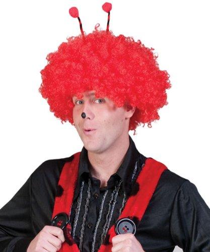 Kostüm Latzhose Marienkäfer Größe 56/58 Damen Herren Unisex Tierkostüm Rot Schwarz Gepunktet Karneval Fasching Pierro's