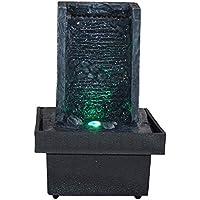 Zen Light SCFRPR1 Fengshui Fountain Charcoal/Black 13 x 13 x 19 cm