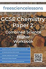 Freesciencelessons GCSE Chemistry Paper 2: Combined Science Higher Workbook Paperback
