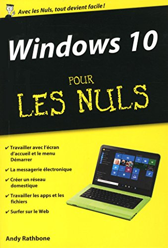 Windows 10 poche pour les Nuls