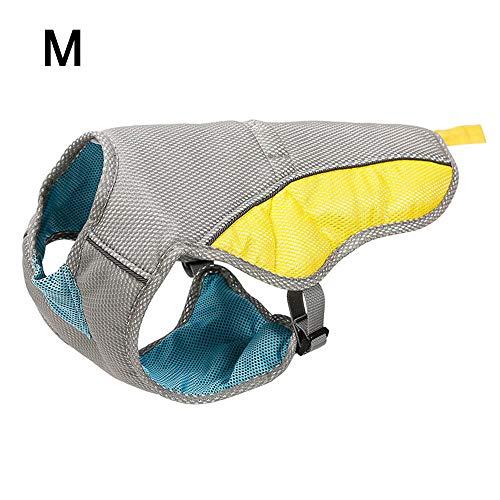 Chaleco de refrigeración para perro, chaqueta de enfriamiento reflectante ajustable para cachorro,...