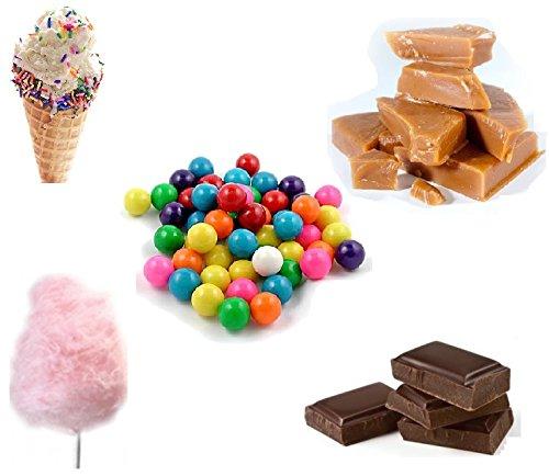 crazygadget-e-shisha-flavour-refill-liquid-juice-10ml-x-5-bubblegum-ice-cream-candy-floss-chocolate-