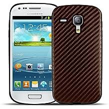 Smooth Carbono - Modelos Samsung - Bronce, Samsung Galaxy S3 Mini