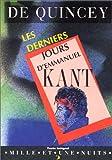 Les derniers jours d'Emmanuel Kant - Mille et une nuits - 01/07/1997
