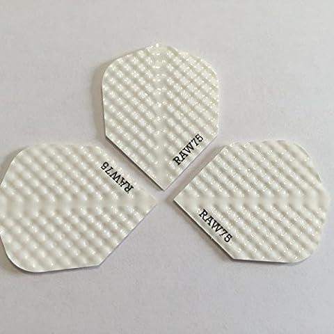 Harrows 4 Sets White Dimplex Dart Flights (12 Flights) by Harrows Darts