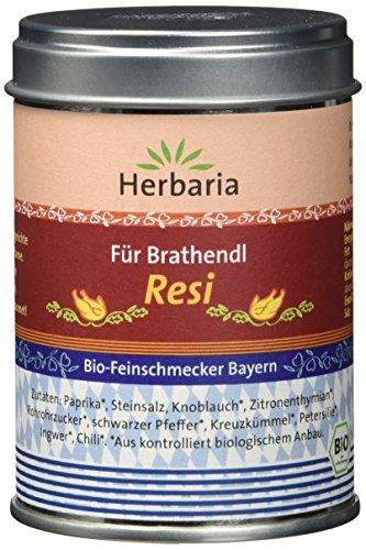 """Herbaria """"Resi"""" Brathendl Gewürzmischung, 1er Pack (1 x 90 g Dose) - Bio"""