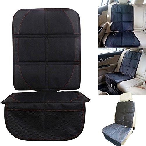 BADASS SHARKS XL Kids Kindersitz Rückenlehnenschutz Unterlage Autositzauflage Sitzschoner, zum Schutz vor Kindersitzen, Isofix geeignet, Auto-Kindersitzunterlage wasserabweisend, Autositzschutz Autos