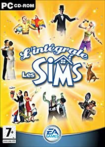 L'Intégrale Sims : Les Sims Triple Deluxe + Les Sims et plus si affinités + Les Sims Superstar + les Sims entre Chiens et Chats + Les Sims Abracadabra
