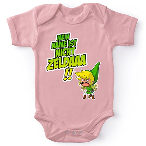 Okiwoki Zelda Lustiges Strampler - Link (Zelda Parodie)