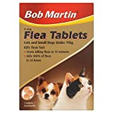Bob Martin - Flea Tablets for Cats & Small Dogs x 3 Tablets