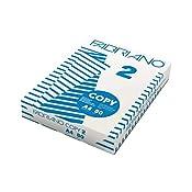 Fabriano 41021297 Copy 2 Carta Fotocopiatrice, A4, 80 G/Mq, 103 µm, Confezione da 5 Pezzi
