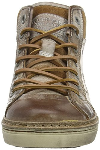 Yellow Cab Rail M, Baskets hautes homme Marron - Marron (caramel)