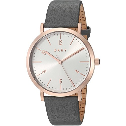 DKNY Damen-Armbanduhr NY2652 (Dkny Uhren Leder Damen)