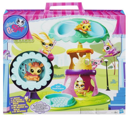 Preisvergleich Produktbild Hasbro A5122492 - Littlest Pet Shop Magic Motion Tierchen Camp