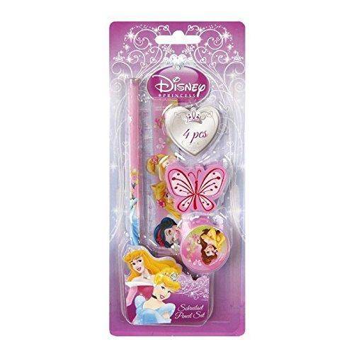 Undercover Schreibset Disney Princess 4-teilig