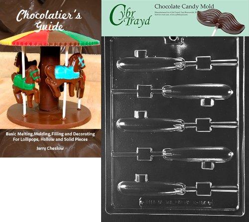 Cybrtrayd bk-k154U-Boot Lolly Kinder Schokolade Candy Form mit Chocolatier 's Guide Anweisungen Buch Handbuch (Kids Boot Schokolade)