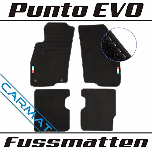 CARMAT Fussmatten mit LOGO FI/PEY08/L/B -