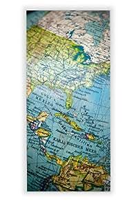 Motivscheibe pour iKEA applique gyllen motif :  globe terrestre