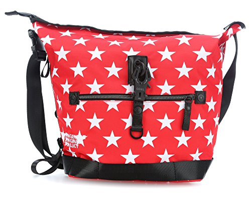 George Gina & Lucy Small Challenge Borsa a tracolla 27 cm red star