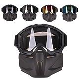 Foxom Taktische Maske Softair Schutzmaske Gesichtsmaske Paintball Maske für Nerf Rival (Color-1)
