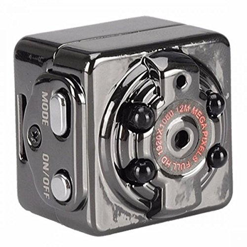 Flexymove Mini DV Camera 1080P Full HD Voiture Sports IR Night Vision DVR Camescope Video