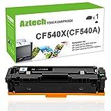 Aztech 1 Pack Kompatibel für HP 203X CF540X-CF543X 203A CF540A HP203A HP203X Toner für HP Color Laserjet Pro M281fdw MFP M281 fdw MFP M281fdn M280nw M280 M254dw M254nw M254