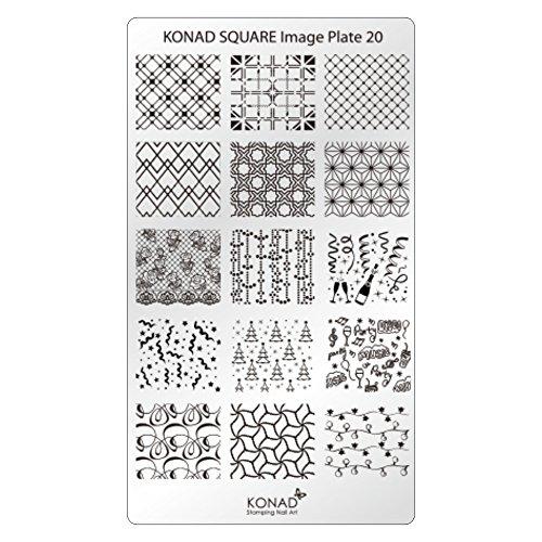 KONAD Plaque Rectangulaire 20