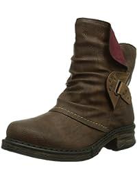 Rieker Z9984-26 Damen Halbschaft Stiefel