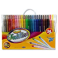 Premier Stationery 51670 World of Colour Twisties Crayon - Multi-Colour (Pack of 24)