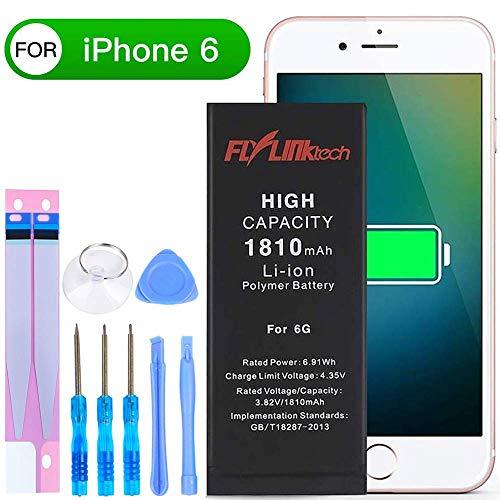 FLYLINKTECH Akku für iPhone 6 1810mAh, FLYLINKTECH Ersatz mit höherer Kapazität als and