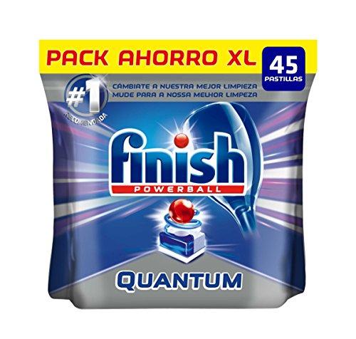 Finish Quantum Regular Pastillas para Lavavajillas - 45 pastillas