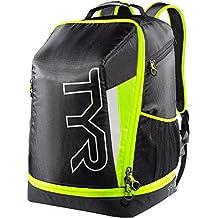 Apex de Tyr transición mochila bolsa de triatlón, Unisex, Apex Transition Backpack, Black/Fl Yellow