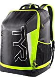 TYR Apex Transition, Zaino per Triathlon Unisex-Adulto, Black/Fluo Yellow, M