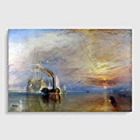 Arty Pie Art Print Poster A1 (84.1 x 59.4 cm / 33.1 x 23.4 Inch) J.M.W. Turner (Joseph Mallord William Turner) The Fighting Temeraire preiswert